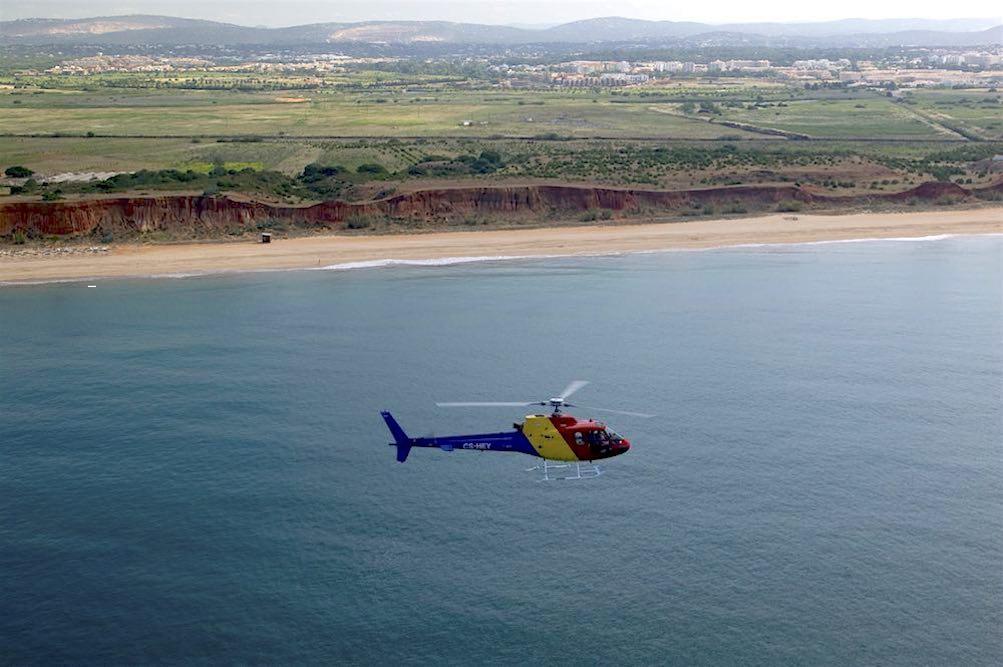 Team building, Helicóptero